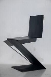Metal Zig Zag Chair 1 - Gerrit Rietveld Copy