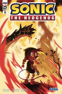 SONIC THE HEDGEHOG #46 (2021) 1ST PRINTING SCARCE 1:10 VARIANT COVER IDW