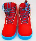 HYPERLITE WEBB MEN'S WAKEBOARD BOOT - RED/BLUE -- SIZE: 7 -- NEW!!!