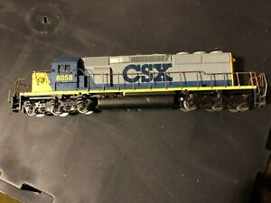 USED Athearn SD40-2 Locomotive CSX Rd #8058 (OLDER BLUE BOX LOCO) HH