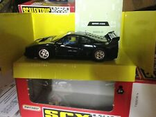 mint boxed SCX ferrari f40 black uk limited edition 83450g