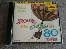 AROUND THE WORLD IN 80 DAYS CD SOUNDTRACK - VICTOR YOUNG - MCA USA ORIGINAL ISSU