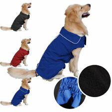 Vestiti e scarpe cappotto blu per cani Unisex
