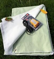 30x60 in GREEN Grounding / Earthing Conductive Sleeping Material / Fabric /Sheet