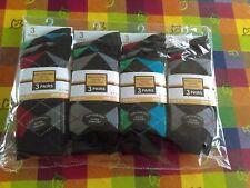 NEW SOCK SATION MEN S Designer SOCKS Cotton Rich LOT UK SIZE 6-11 PACK OF 12