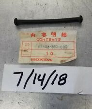 NOS OEM Honda MT 125 CR 125 side cover strap 83503-360-000