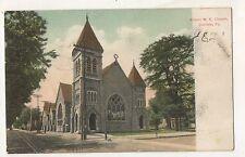 Allison Methodist Church CARLISLE PA Cumberland County Pennsylvania Postcard