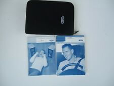 FORD FOCUS C-MAX OWNERS HANDBOOK WITH AUDIO GUIDE IN HOLDER 2004 TO 2008