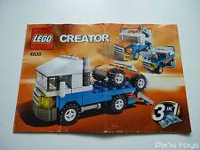 LEGO Notice Instruction / 4838 Mini Vehicles