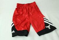 Adidas Basketball Short Wendbar Chicago Bulls Herren Gr. L Rot Schwarz
