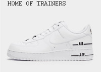 Nike Air Force 1 '07 LV8 White Black Men's Trainers All Sizes