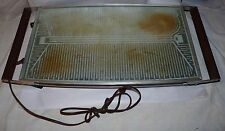 1960s Cosmopolitan Salton Glass Top Automatic Food Warmer H-140 Series M