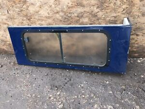 Glazed Right Hand Side Panel Land Rover Defender 90 County models.