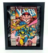 8x10 Framed X-Men Shadow Box 3D Comic Book Art