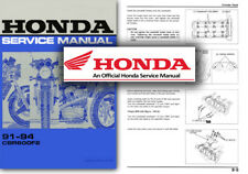 Honda CBR600 F2 Service Workshop Repair Shop Manual 1991 - 1994 CBR 600 CBR600F