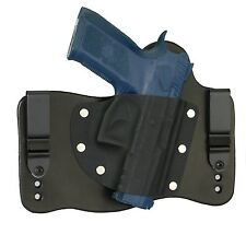 FoxX Holsters Leather & Kydex IWB Hybrid Holster CZ 75 P-07 Black Right Tuckable