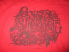 2005 American Heavy Metal Slipknot (Xl) T-Shirt Red