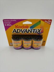 Vintage NOS Kodak Advantix Color Print Film 200DXIX40 1998 75 Exposures Total