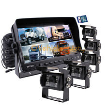 "9"" Monitor Car Vehicle DVR Recorder Rear View Camera System CCTV IR Camera Kit"