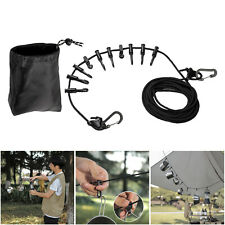 New listing Universal Camping Lanyard Rope, Portable Camping Hanging Rope for Camping,
