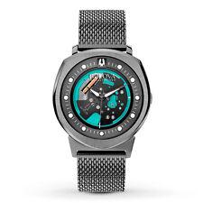 Bulova Accutron II Men's 98A136 UHF Quartz Turquoise Accents Mesh 42mm Watch