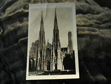 Unposted postcard of St. Patrick's Cathedral, New York.