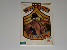 Sergeant Slaughters Mat Wars (Commodore 64, 1989) SEALED, Mindscape, C64