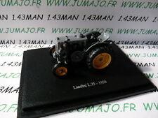 TR49W Tracteur 1/43 universal Hobbies n° 99 LANDINI L25 1950