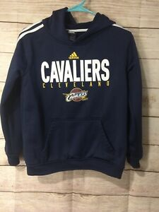 Adidas Cleveland Cavaliers Hoodie Sweatshirt Youth m (10-12) Excellent+