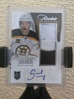 2013-14 ROOKIE ANTHOLOGY CARL SODERBERG RC AUTO JERSEY 194/249 Selection 107