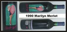 1990 MARILYN MONROE MERLOT Red Wine SEALED Collectible Celebrity MINT  *********