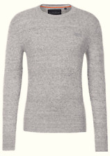 Superdry señores suéter Sweater punto talla M cachemira premium gris 87765