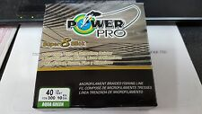 1 Spool Power Pro Super 8 Slick Aqua Green 40 Pound - 300 Yards NEW