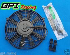 "UNIVERSAL 10"" inch Universal Electric Radiator Fan New w/ mounting kit black"