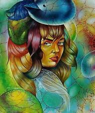 Original Art Painting Oil Canvas Cuban Art Arte Cuba YOANDRIS PEREZ BATISTA 3