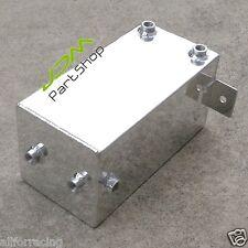 4L Universal Aluminium 4 Litre Swirl Pot 4L Fuel Polished Alloy Surge Tank 9432