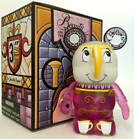 "DISNEY VINYLMATION 3"" BEAUTY AND THE BEAST SERIES 2 CHIP TEA CUP MRS POTTS SON"