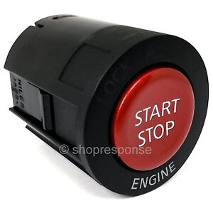 OEM Nissan 08-17 GT-R GTR R35 Engine Start Stop Button Switch Red 25151-JF00A