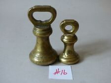 HERBERT SONS SMITHFIELD BRASS BELL SCALES WEIGHTS 1.5LB #16 BUY 1 GET 1 FREE UK