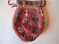Native American Indian Beaded Bag for JNE Quintana 1909 Santa Fe NM Legislature