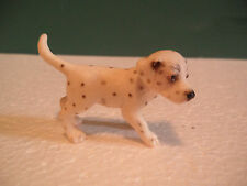 Schleich Spotted Black and White Dalmatian Puppy Figure USED