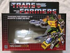 TRANSFORMERS G1 AUTOBOT SPRINGER BOX, MANUAL, CARDBOARD BACK, & BUBBLE NEW!