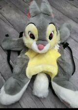 Peluche sac à dos lapin panpan Disneyland excellent etat