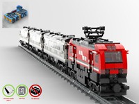 Personenzug - Bahn MOC - PDF Bauanleitung - kompatibel mit LEGO Steine
