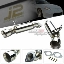 "J2 ENGINEERING FOR 09-16 370Z Z34 4.5"" DUAL TIP MUFFLER AXEL/CAT BACK EXHAUST"