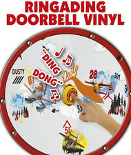 Disney Planes 40 Wall Stickers / Ringading Doorbell Vinyl / Ring Bell Door Sign