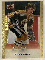 2014-15 Bobby Orr Upper Deck Masterpieces Boston Bruins Legend #104