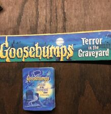 1995 Goosebumps Terror In The Graveyard Board Game ~Replacement cards