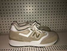 New Balance 597 Mens Athletic Running Shoes Size 13 Beige Gold White Classics