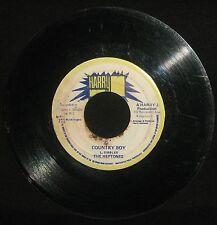 "Heptones ""Country Boy"" / ""Version"" 1974 Harry J 7"" boss reggae G"